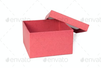 Open red box.