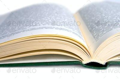 Cover open book