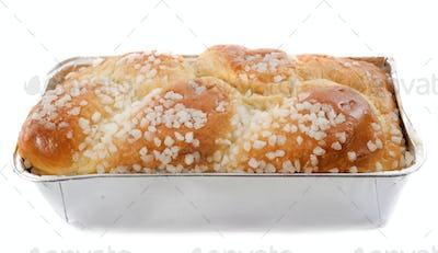 brioche with sugar