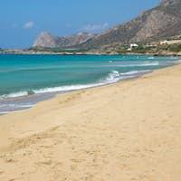 The beautiful Falassarna beach