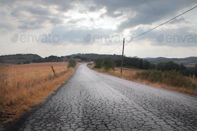 Long Bumpy Road