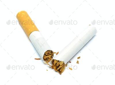 A Broken Cigarette