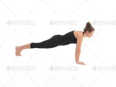 htha yoga posture demonstration
