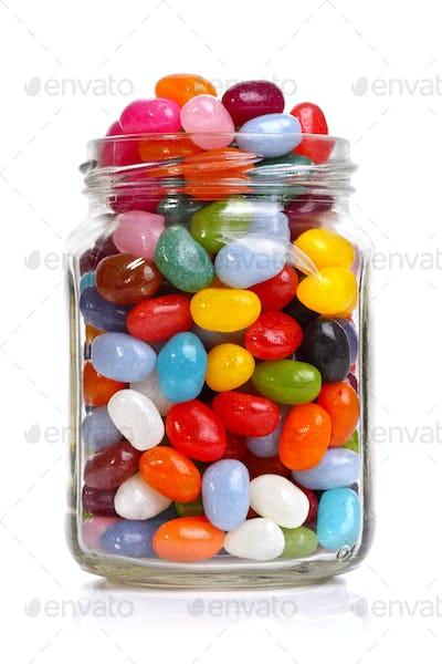 Jellybeans in a jar