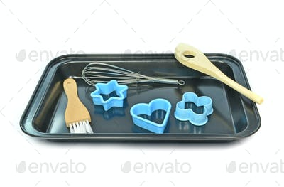 Baking Tray with Utensils