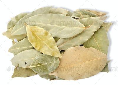 Heap bay leaves