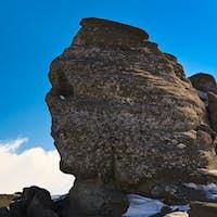 The Bucegi Sphinx , Romania