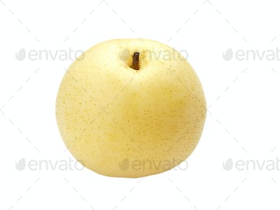 Asian pear macro view