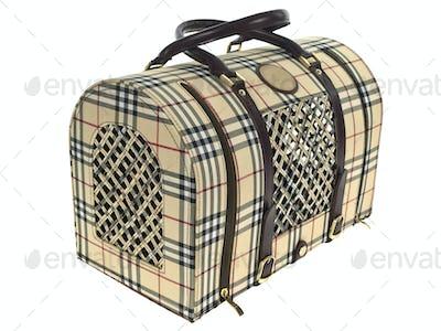 Pet carrier luxury bag sideways