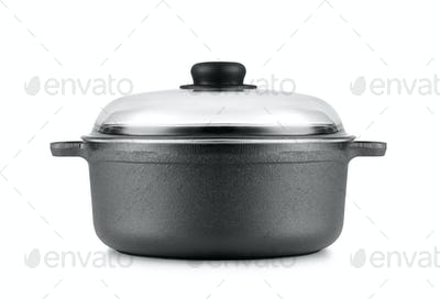 pan isolated on a white