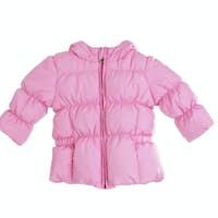 Bright children's pink jacket