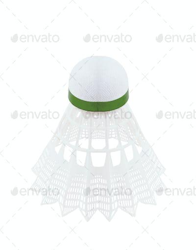 shuttlecock isolated on white