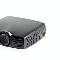 Multimedia black projector