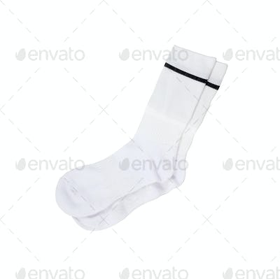 a white pair of sock