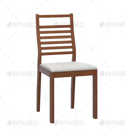 modern wooden chair