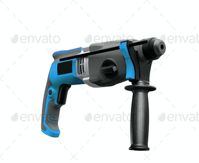drill on white background