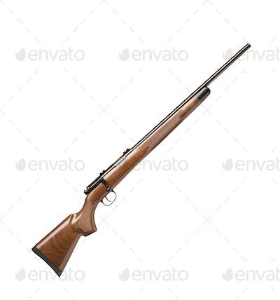 vintage gun isolated