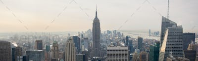 View of New York City from Rockefeller Center, New York, USA