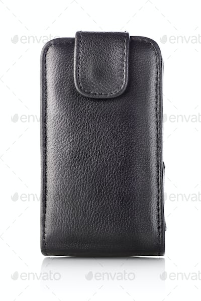 Black case for mobile