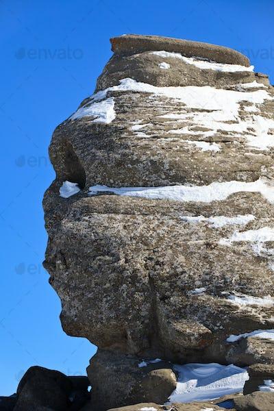 The Bucegi Sphinx