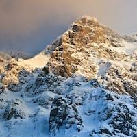 mountain blizzard