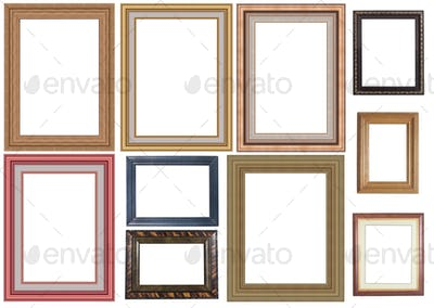 collection of picture frame