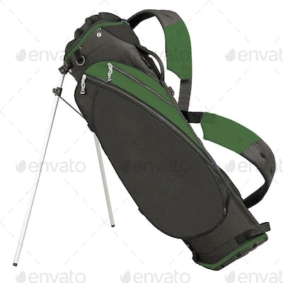 Golf Bag isolated on white