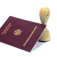 Childs German passport
