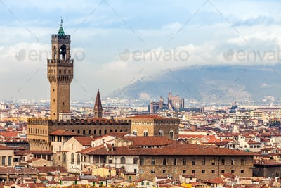View Of Palazzo Vecchio, Florence