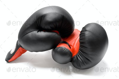 Boxing Gloves Isolated on a White Background