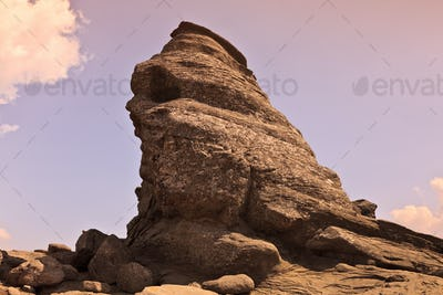 Rock in the Bucegi mountains