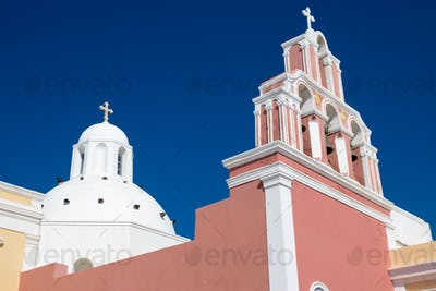 Beautiful church in Fira