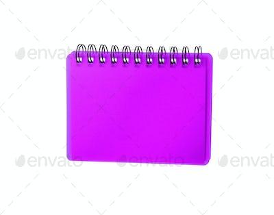 Purpule color Cover Note Book