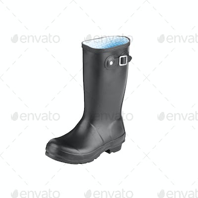 Gum Boot isolated against a white background