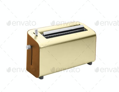 Toaster isolated on white