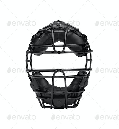 Baseball mask isolated on white
