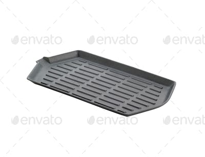 a grill pan isolated on a white background