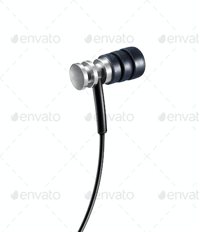 Headphone. On a white background.