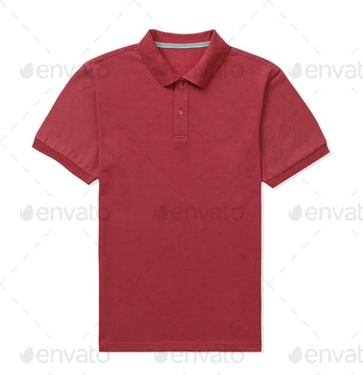 Red T-shirt isolated