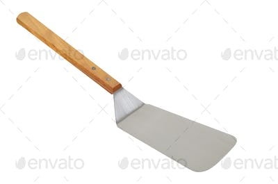 pizza spade on white background