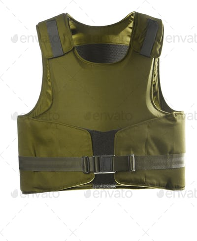 Green Bulletproof vest