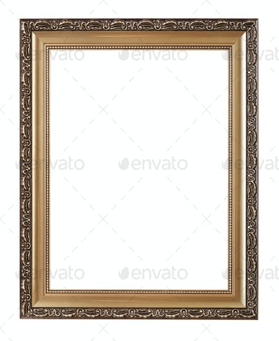 Frame. Including clipping path
