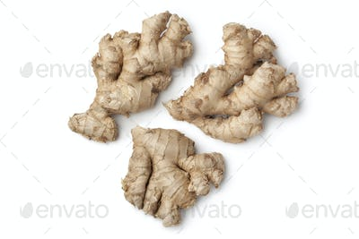 Fresh wild ginger roots