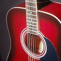 Acoustic classical guitar