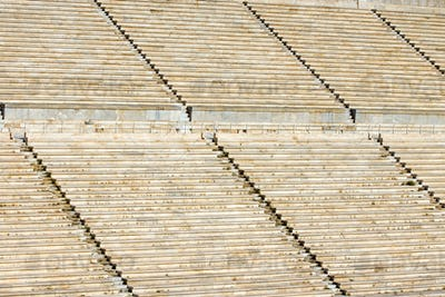 Detail of the old Panathenaic stadium