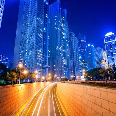 Megacity Highway in China