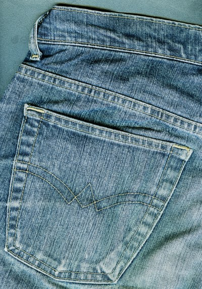 Jeans background.