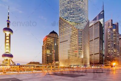 panorama of Shanghai