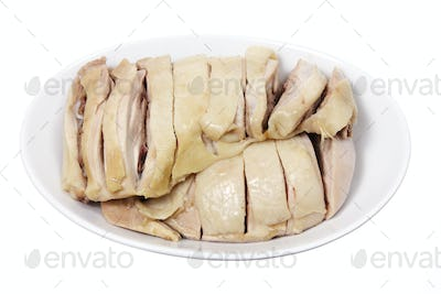 Bowl of Boiled Chicken