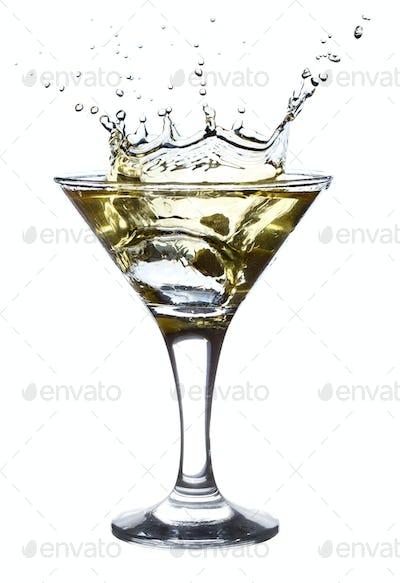 Splashing Martini